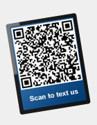 Scan to text us